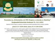 Znojemské historické vinobraní 13.-14.9.2013